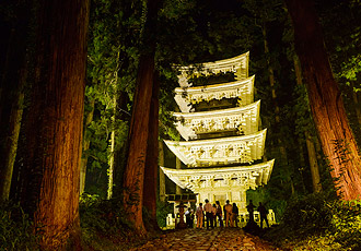 National treasure:5-story Pagoda of Mt. Haguro