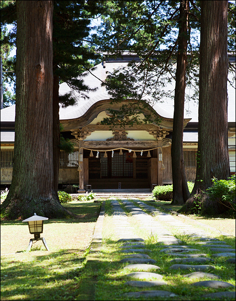 Mt. Haguro Saikan Temple lodge