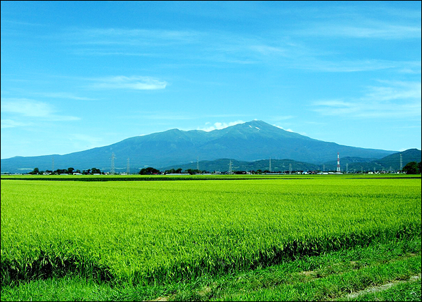 The Fuji of Dewa Mt.Chokai