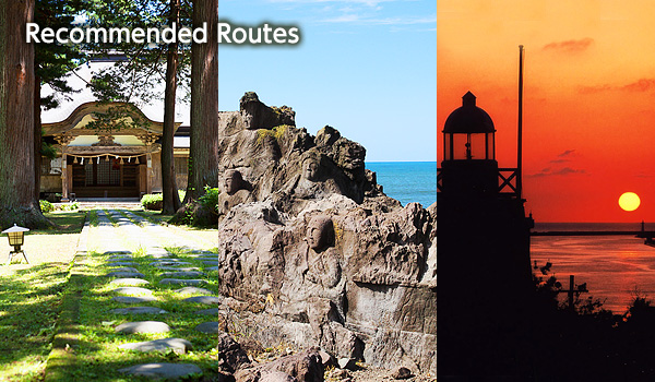 recommended routes